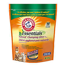 ARM & HAMMER™ Essentials Cat Litter - Natural, Clumping, Multi-Cat, Fresh Scent