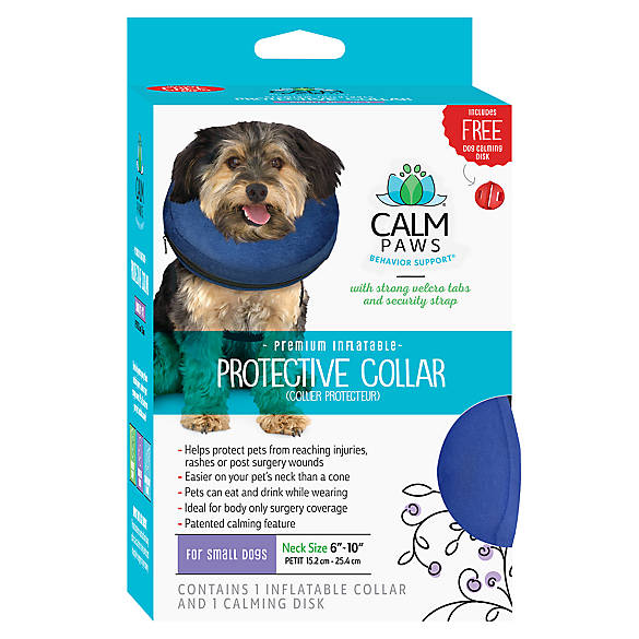 Calm Paws Behavior Supporttrade Protective Inflatable Pet Collar