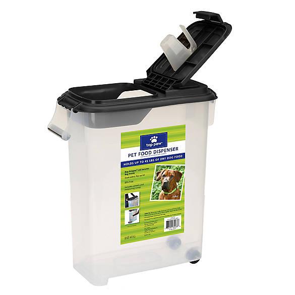 Grreat Choice 174 Pet Food Dispenser Dog Storage Amp Scoops