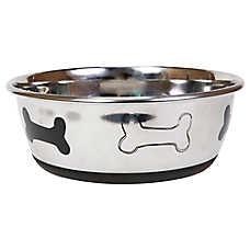 Top Paw Bone Dog Bowl
