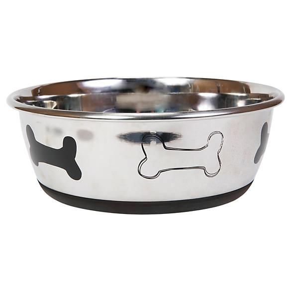 Top paw bone dog bowl dog food water bowls petsmart for Petsmart fish bowl
