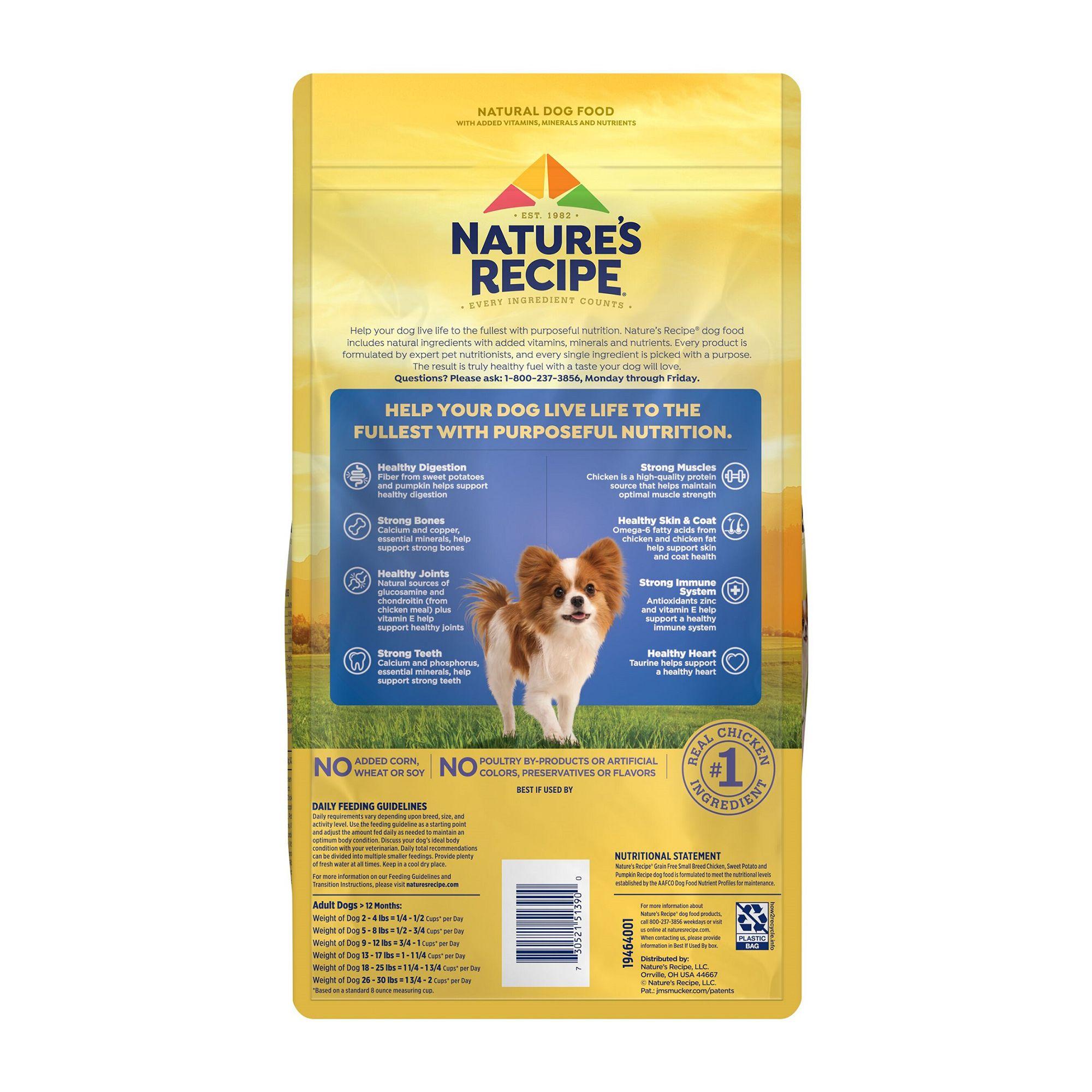 Nature S Recipe Small Breed Adult Dog Food Dog Dry Food Petsmart
