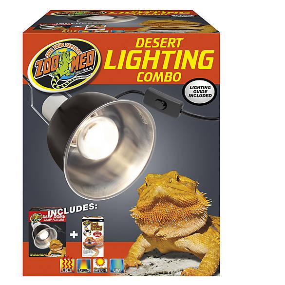 Zoo Med Desert Reptile Lighting Combo Pack Reptile