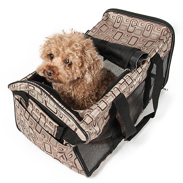 Pet Life Airline Approved Casual Pet Carrier Dog