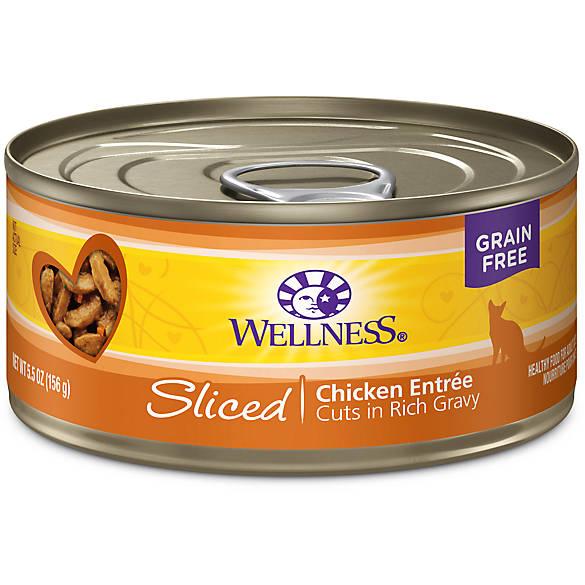 Wellness 174 Sliced Cat Food Natural Grain Free Cat Wet