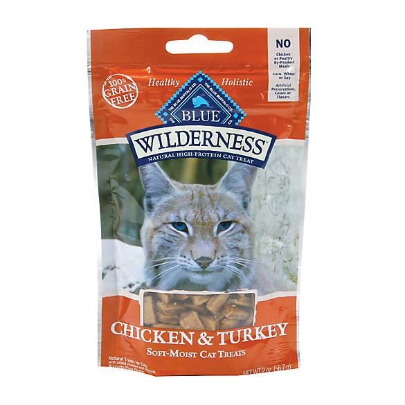Blue Wilderness 174 Grain Free Soft Moist Cat Treat Cat
