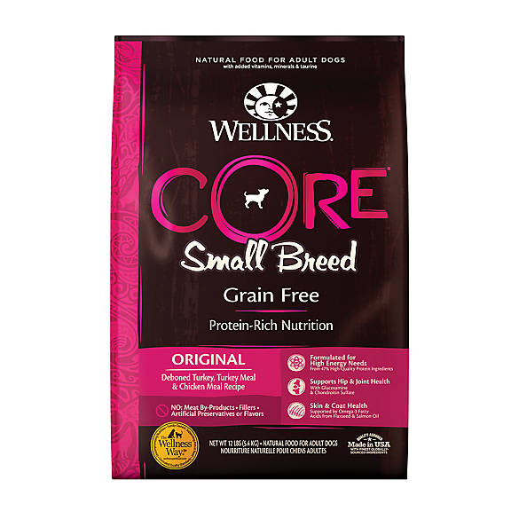 Wellness 174 Core 174 Small Breed Adult Dog Food Natural