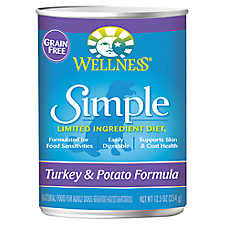 Wellness® Simple Limited Ingredient Diet Adult Dog Food - Natural, Grain Free