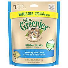 Feline GREENIES® Dental Cat Treat - Tempting Tuna
