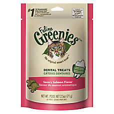 Feline GREENIES® Dental Cat Treat - Savory Salmon