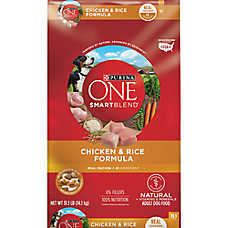 Purina ONE® SMARTBLEND® Adult Dog Food - Chicken & Rice