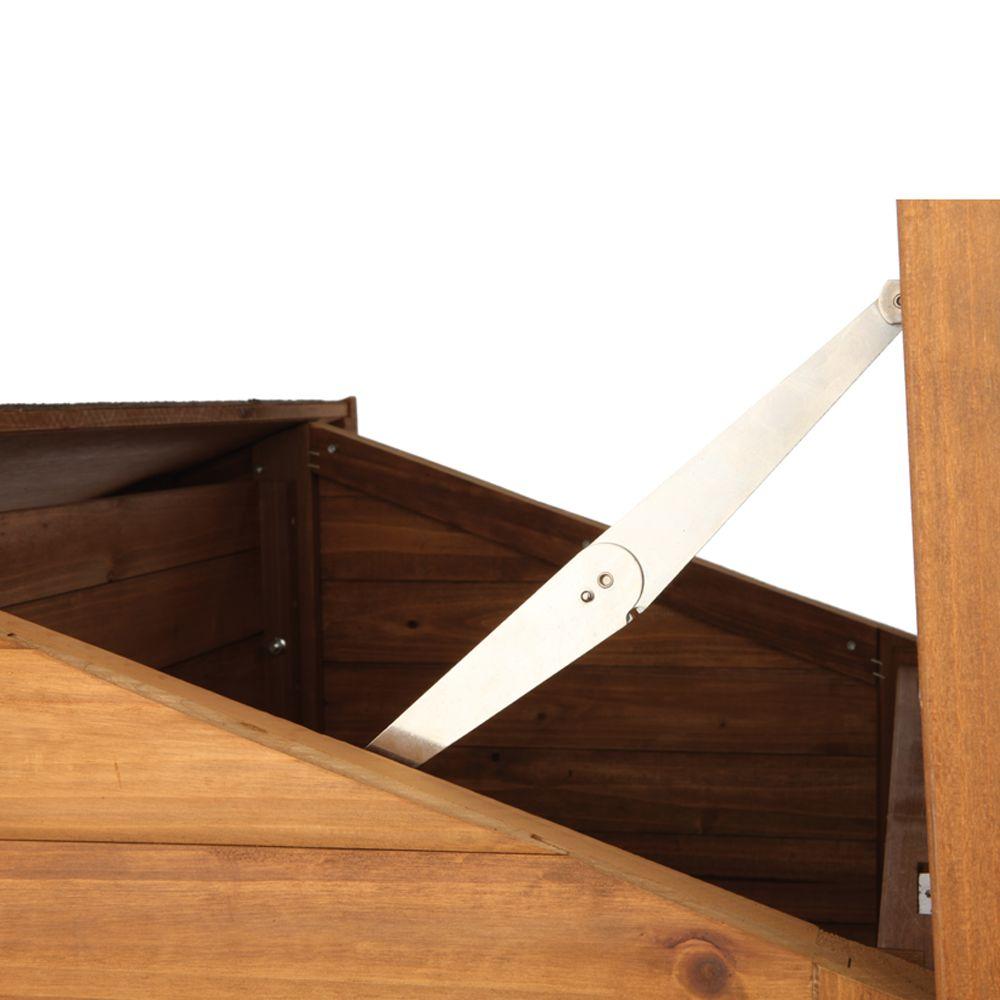 Large Trixie 39512 Rustic Dog House Glazed Pine