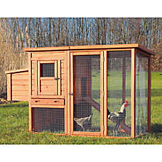 TRIXIE Chicken Coop & Outdoor Run