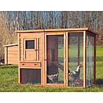 TRIXIE Chicken Coop & Outdoor Run