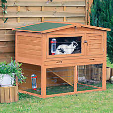 TRIXIE 2-Story Peaked Roof Rabbit Hutch
