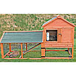 Trixie 2 Story Rabbit Hutch With Wheels Amp Outdoor Run