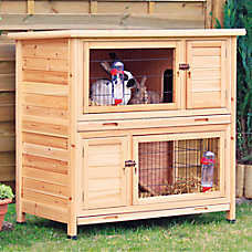 TRIXIE 2-Story Rabbit Hutch