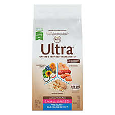 NUTRO ULTRA™ Weight Management Small Breed Adult Dog Food - Natural, Chicken