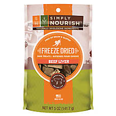 Simply Nourish™ Freeze Dried Dog Treat - Natural, Grain Free