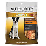 Authority® Chewy Dog Treat - Grain Free, Chicken Jerky