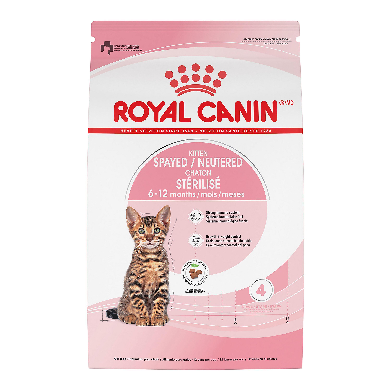 Royal Canin Feline Health Nutrition Trade Spayed Neutered Kitten Food Cat Dry Food Petsmart