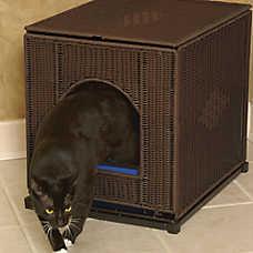 Mr. Herzher's Cat Litter Box Cover