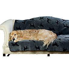 Carolina Pet Embossed Dog Throw Blanket