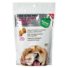 GNC Pets® Ultra Mega Hip & Joint Health Mini Dog Bone