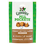 GREENIES® Pill Pockets® Dog Treats for Tablets - Peanut Butter