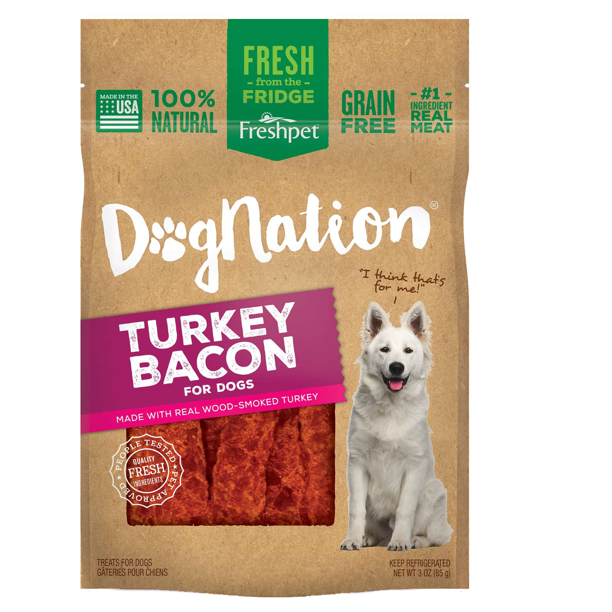 Natural, Grain Free, Turkey Bacon