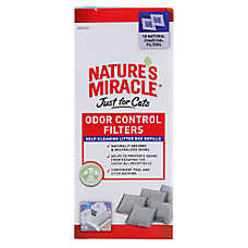 Nature's Miracle® Just For Cats Odor Control Filters