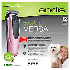 Andis® EasyClip® Versa Interchangeable Blade Pet Hair Clipper Kit - 12 Piece