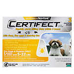 Certifect™ 5-22 Lb Dog Flea & Tick Treatment