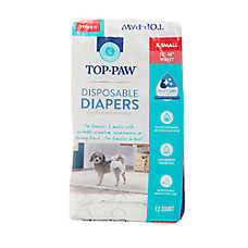 Top Paw® Disposable Dog Diapers - 12 Pack