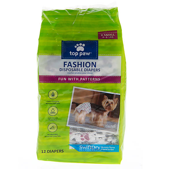 Top Paw Dog Pads are ideal for everyday use and potty training. Designed with SwiftDry Technology, they quickly turn liquid into gel to help prevent tracking. Adhesive tabs help hold the pad in place, while a pheromone attractant encourages instinctive marking.