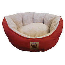 Precision Pet Products® Clamshell Cuddler Pet Bed