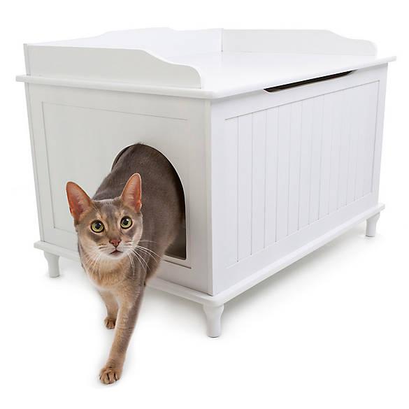 Designer Catbox Cat Litter Box Enclosure