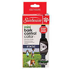 Sunbeam Mini Static Bark Control Dog Collar