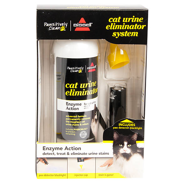 bissell pawsitively clean enzyme action cat urine eliminator system