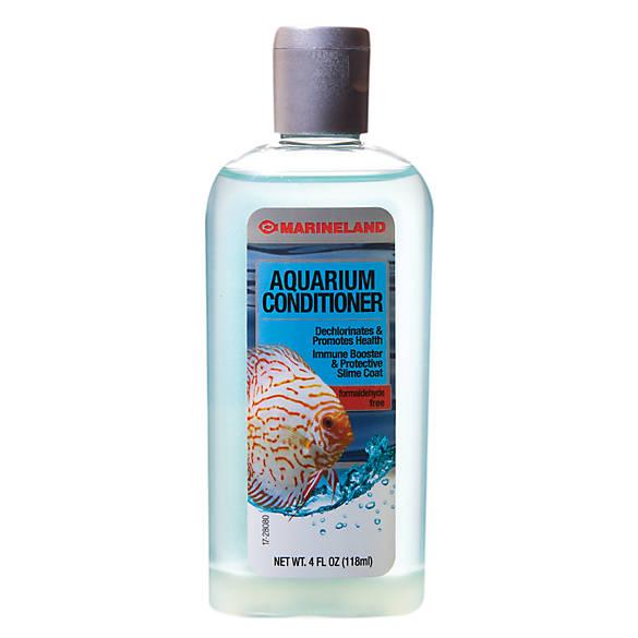 Marineland aquarium conditioner fish water care for Fish tank water conditioner