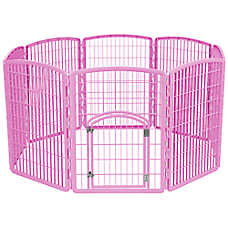 IRIS 8-Panel Plastic Pet Pen