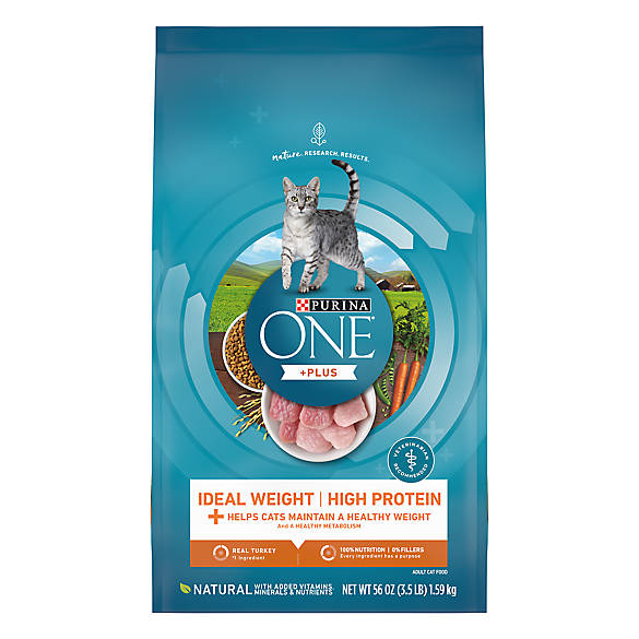 Purina One Smartblend Healthy Metabolism Adult Cat Food Cat Dry