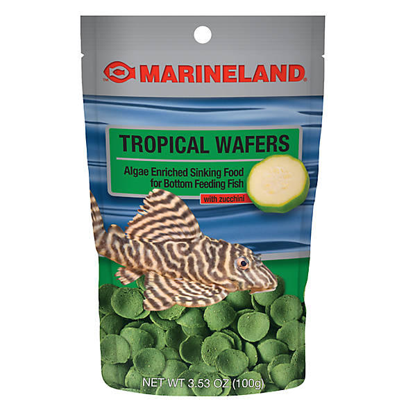 Marineland algae wafers fish food fish food petsmart for Purina tropical fish food