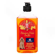 Top Paw® Strawberry Banana Smoothie Multi-Purpose Dog Shampoo