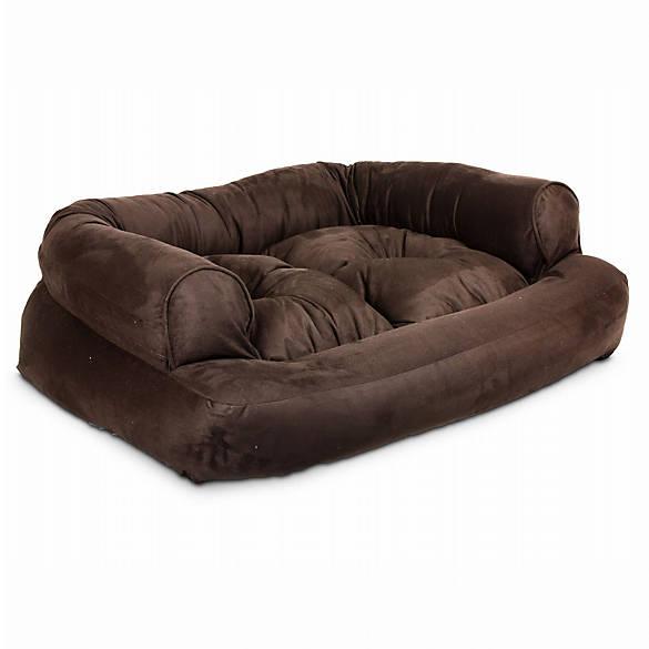 Snoozer 174 Overstuffed Luxury Sofa Pet Bed Dog Cuddler