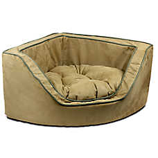 Snoozer® Luxury Overstuffed Corner Pet Bed