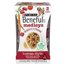 Purina® Beneful® Medleys Dog Food - Tuscan Style, 3ct