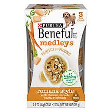 Purina® Beneful® Medleys Dog Food - Romana Style, 3ct