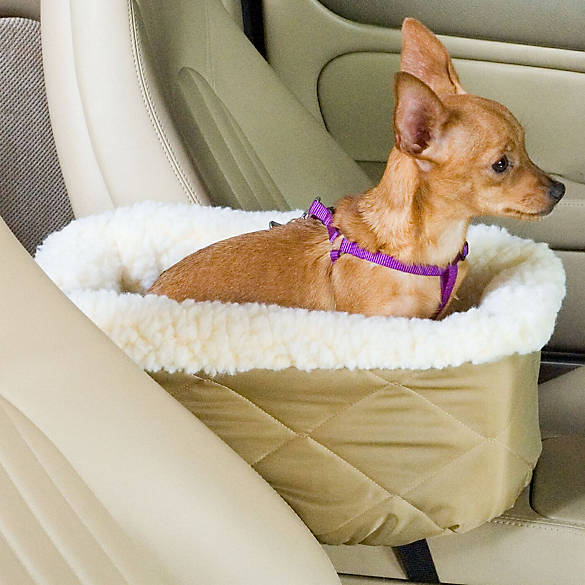 Snoozer 174 Console Lookout Pet Car Seat Dog Car Booster