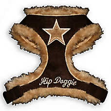 Hip Doggie Fur Star Dog Harness Vest